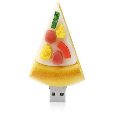 Caraele Pizza Cartoon USB Flash Drive