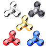 High-speed Tri-bar Electroplating Fidget Spinner Stress Reliever Toy - FROST