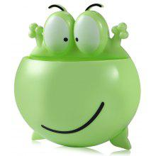 Frog Style Toothbrush Holder Stand with Suction Cup