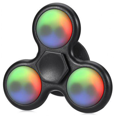 Multi-color LED Three-blade ABS Fidget Spinner