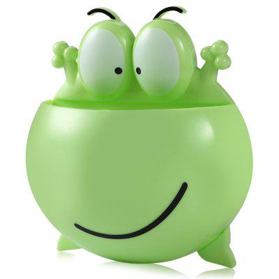 Frog Style Toothbrush Holder Stand with Suction Cup 213181301