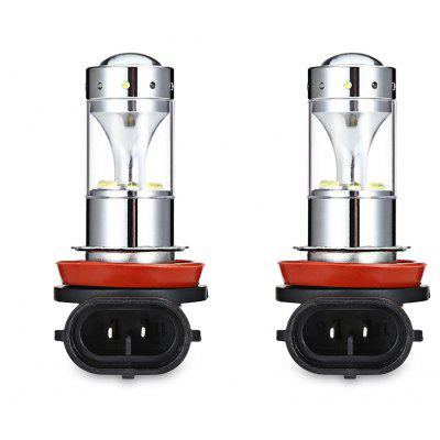 2pcs H11 - XBD - 60W H8 / H11 12 LED Fog Light Car Lamp