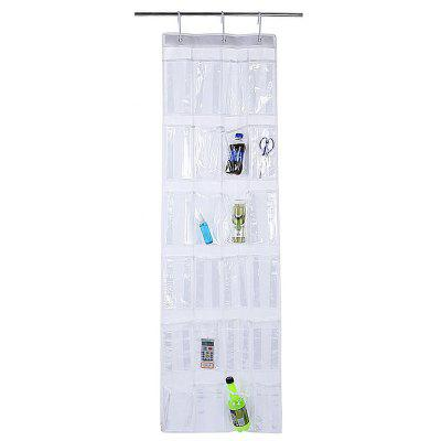 24-pocket Hanging Clothes Shoes Storage Accessory Organizer