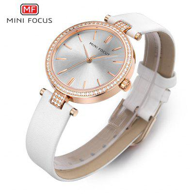 MINIFOCUS MF0039L Rhinestone Quartz Watch for Women