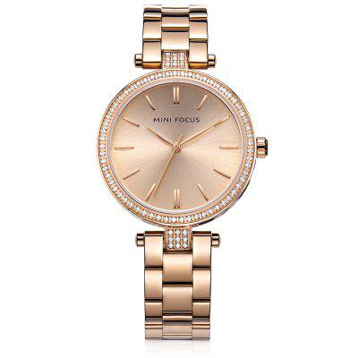 MINIFOCUS MF0039L Quartz Watch for WomenWomens Watches<br>MINIFOCUS MF0039L Quartz Watch for Women<br><br>Band material: Steel<br>Band size: 20.00 x 1.60 cm / 7.87 x 1.50 x 0.62 inches<br>Case material: Alloy<br>Clasp type: Butterfly clasp<br>Dial size: 3.80 x 3.80 x 0.80 cm / 1.50 x 1.50 x 0.31 inches<br>Display type: Analog<br>Movement type: Quartz watch<br>Package Contents: 1 x MINIFOCUS Women Quartz Watch<br>Package size (L x W x H): 22.00 x 5.00 x 1.80 cm / 8.66 x 1.97 x 0.71 inches<br>Package weight: 0.1150 kg<br>Product size (L x W x H): 20.00 x 3.80 x 0.80 cm / 7.87 x 1.5 x 0.31 inches<br>Product weight: 0.0850 kg<br>Shape of the dial: Round<br>Watch mirror: Mineral glass<br>Watch style: Fashion<br>Watches categories: Female table<br>Water resistance: Life water resistant