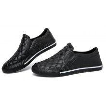 Breathable Slip-on Women PU Casual Shoes
