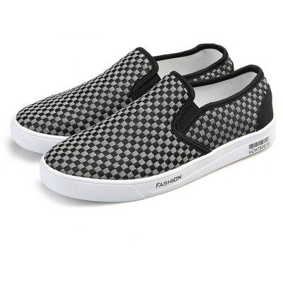Men Breathable Canvas Shoes