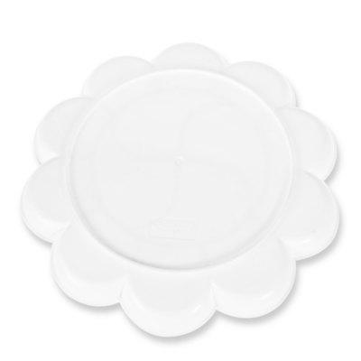 Deli 9403 Color Mixing Tray 14 Holes Palette for PaintingPainting Supplies<br>Deli 9403 Color Mixing Tray 14 Holes Palette for Painting<br><br>Brand: Deli<br>Color: White<br>Material: PVC<br>Model: 9403<br>Package Contents: 1 x Color Palette<br>Package size (L x W x H): 20.00 x 20.00 x 3.00 cm / 7.87 x 7.87 x 1.18 inches<br>Package weight: 0.0700 kg<br>Product size (L x W x H): 19.00 x 19.00 x 1.50 cm / 7.48 x 7.48 x 0.59 inches<br>Product weight: 0.0500 kg