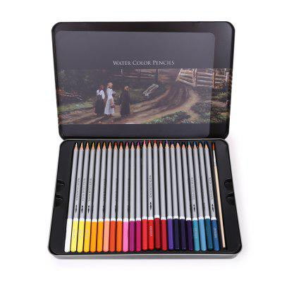Deli 6523 48PCS Water Color Pencil Painting Supplies