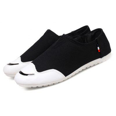 Summer Fashion Breathable Men Canvas Board Shoes