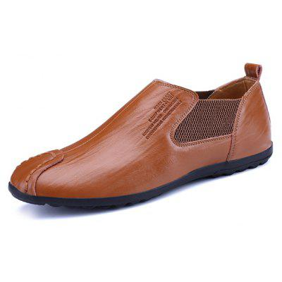 Slip-on Casual Leather Shoes