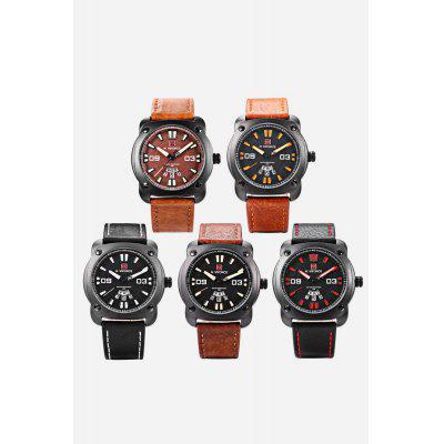 NAVIFORCE NF9096M Men Quartz WatchMens Watches<br>NAVIFORCE NF9096M Men Quartz Watch<br><br>Band material: Leather<br>Band size: 24.2 x 2cm / 9.53 x 0.79 inches<br>Brand: Naviforce<br>Case material: Alloy<br>Clasp type: Pin buckle<br>Dial size: 4.2 x 4.2 x 1.2cm / 1.65 x 1.65 x 0.47 inches<br>Display type: Analog<br>Movement type: Quartz watch<br>Package Contents: 1 x Watch<br>Package size (L x W x H): 25.20 x 5.20 x 2.20 cm / 9.92 x 2.05 x 0.87 inches<br>Package weight: 0.1030 kg<br>Product size (L x W x H): 24.20 x 4.20 x 1.20 cm / 9.53 x 1.65 x 0.47 inches<br>Product weight: 0.0720 kg<br>Shape of the dial: Round<br>Special features: Day, Luminous, Date<br>Watch mirror: Mineral glass<br>Watch style: Business<br>Watches categories: Male table<br>Water resistance: 30 meters<br>Wearable length: 18.00 - 23.00cm / 7.09 - 9.06 inches