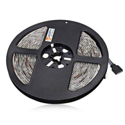 ZDM 5M 36W 5050 SMD 150 LEDs RGB Strip LightLED Strips<br>ZDM 5M 36W 5050 SMD 150 LEDs RGB Strip Light<br><br>Brand: ZDM<br>Features: Cuttable, IP-65, Remote Control<br>Input Voltage: AC100-240<br>LED Type: SMD-5050<br>Length: 5M<br>Material: PCB<br>Package Contents: 1 x ZDM Light Strip, 1 x Remote Control, 1 x Power Driver<br>Package size (L x W x H): 12.00 x 12.00 x 4.00 cm / 4.72 x 4.72 x 1.57 inches<br>Package weight: 0.3000 kg<br>Product size (L x W x H): 11.00 x 11.00 x 3.00 cm / 4.33 x 4.33 x 1.18 inches<br>Product weight: 0.2600 kg<br>Rated Power (W): 36W<br>SMD: 5050<br>Type: LED Strip<br>Waterproof: Yes