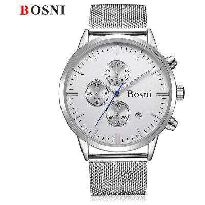 BOSNI GQ8007 Montre Homme Quartz