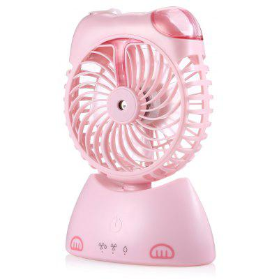 Fortune Cat Style Desktop Mini Misting Fan