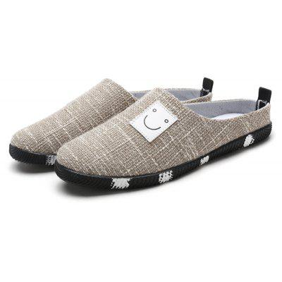Summer Fashion Breathable Linen Men Slippers