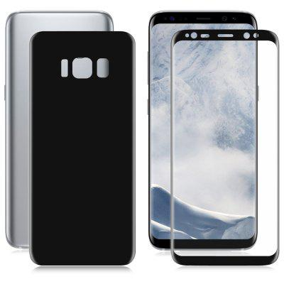 Hat Prince Electroplating 3D Arc Screen Front Back Protective Film for Samsung Galaxy S8 Plus