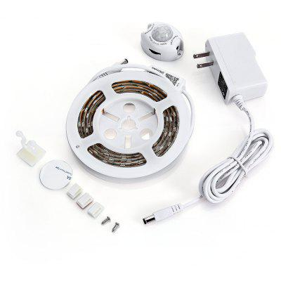 1.5M 60 LEDs 10.6W 800LM RGBW Motion Sensor Light Strip