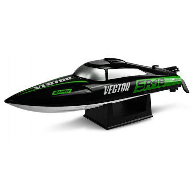 VOLANTEXRC V797 - 3 VECTOR SR48 RC Racing Boat - RTR -  BLACK AND GREEN