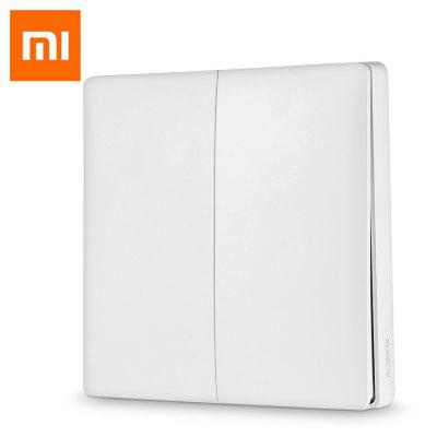 Xiaomi Aqara Smart Light Control Fire Wire and Zero Line Double Key Version