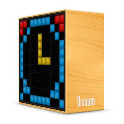 Divoom Timebox Smart Portable Bluetooth LED SpeakerSpeakers<br>Divoom Timebox Smart Portable Bluetooth LED Speaker<br><br>Audio Source: Bluetooth Enabled Devices,Electronic Products with 3.5mm Plug,Electronic Products with USB port<br>Battery Capacity: 2500mAh<br>Bluetooth Version: V4.0<br>Brands: Divoom<br>Charging Time: 3.5 hours<br>Compatible with: iPod, TV, Tablet PC, PSP, iPhone, MP5, PC, Laptop, Mobile phone, MP3, MP4<br>Connection: Wireless<br>Design: Cool<br>Interface: 3.5mm Audio, Micro USB<br>Model: Timebox<br>Package Contents: 1 x Divoom Timebox Bluetooth LED Speaker, 1 x USB Cable, 1 x English Manual<br>Package size (L x W x H): 13.38 x 7.00 x 16.85 cm / 5.27 x 2.76 x 6.63 inches<br>Package weight: 0.7950 kg<br>Power Output: 5W<br>Product size (L x W x H): 11.44 x 5.50 x 11.58 cm / 4.5 x 2.17 x 4.56 inches<br>Product weight: 0.4200 kg<br>Supports: Volume Control, Bluetooth, LED Shinning<br>Working Time: 4 hours