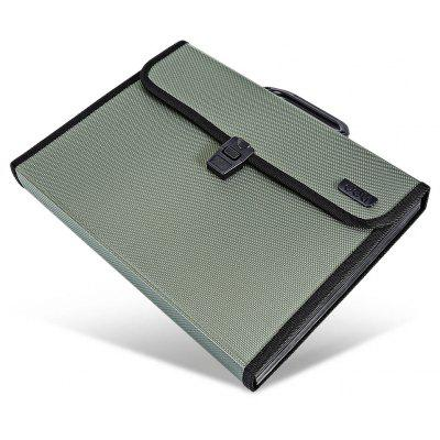 Deli 5555 A4 Data Storage Handheld Briefcase Folder