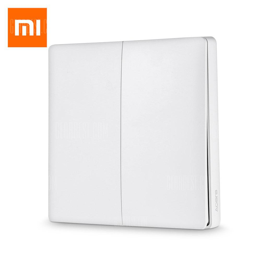 Xiaomi Aqara Wall Switch No Neutral Hardware Home Assistant Wire Light How To A Smartthings Control Smart 4159 Free Shipping Gearbestcom