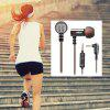 KZ-ED9 In-ear Super Bass HiFi Earphones with Microphone - SILVER WHITE