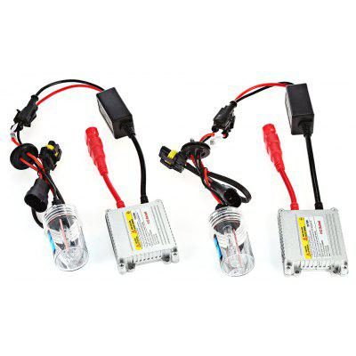 Buy 9006 35W HID Xenon LED Headlight Conversion Kit, WHITE, Automobiles & Motorcycle, Car Lights, Car Headlights for $40.02 in GearBest store
