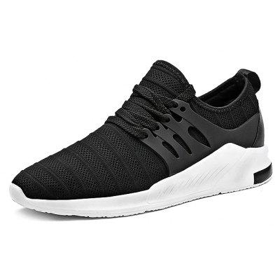 Buy Breathable Woven Lace-up Men Running Shoes, BLACK, 39, Bags & Shoes, Men's Shoes, Athletic Shoes for $20.17 in GearBest store