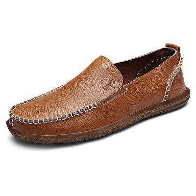 Men Slip On Leather Shoes