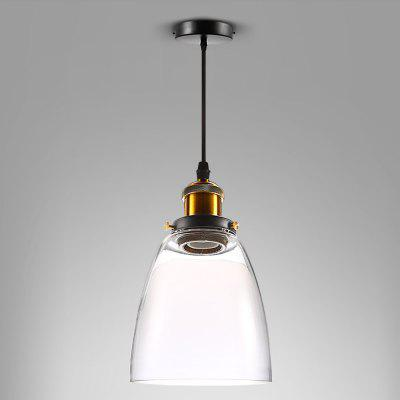 E27 60W Retro Glass Ceiling Pendant Light