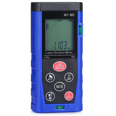 WT - 80 80m Handheld Digital Laser Range Finder