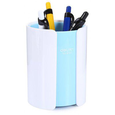 Deli 9141 Pen Container Pencil Pot Student Stationery