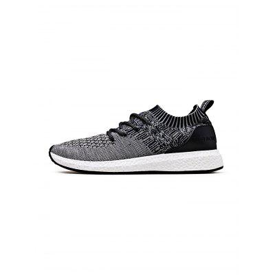 Popular Fly Woven Men Leisure ShoesAthletic Shoes<br>Popular Fly Woven Men Leisure Shoes<br><br>Contents: 1 x Pair of Shoes<br>Materials: Rubber, Woven Fabric<br>Occasion: Casual, Daily<br>Package Size ( L x W x H ): 33.00 x 22.00 x 11.00 cm / 12.99 x 8.66 x 4.33 inches<br>Package Weights: 0.76kg<br>Seasons: Autumn,Spring,Summer,Winter<br>Style: Leisure, Fashion, Comfortable<br>Type: Casual Shoes