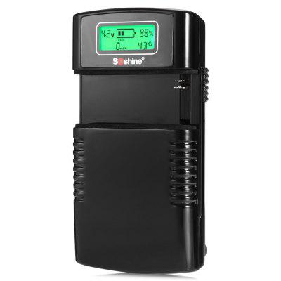 Soshine LCD 3.7V / 7.4V Li-ion Battery Universal Charger