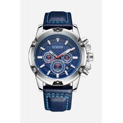 OCHSTIN 6075G Fashion Luminous Pointers Male Quartz Watch