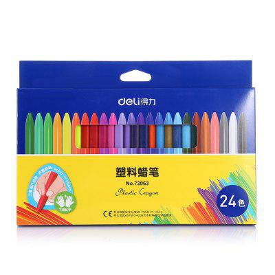 Deli 72063 24 in 1 Oil Pastel Colored Crayon for ChildrenPen &amp; Pencils<br>Deli 72063 24 in 1 Oil Pastel Colored Crayon for Children<br><br>Brand: Deli<br>Package Contents: 24 x Deli 72063 Oil Pastel<br>Package size (L x W x H): 36.30 x 24.00 x 3.00 cm / 14.29 x 9.45 x 1.18 inches<br>Package weight: 0.2600 kg<br>Pen Lead Diameter: Others<br>Pen Type: Multi Function Pen<br>Product size (L x W x H): 20.00 x 17.00 x 2.00 cm / 7.87 x 6.69 x 0.79 inches<br>Product weight: 0.2380 kg