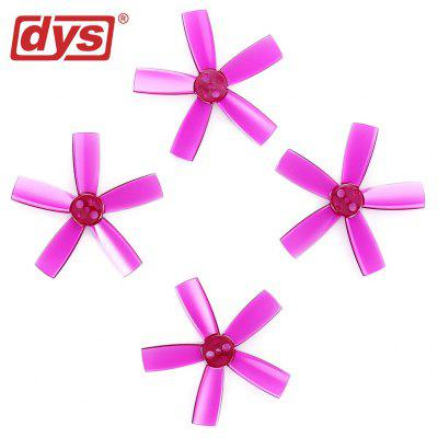 Original dys 1735 Five-blade ABS Propeller 4pcs