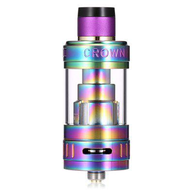 UWELL Crown 3 Sub Ohm Tank ClearomizerOther Atomizers<br>UWELL Crown 3 Sub Ohm Tank Clearomizer<br><br>Brand: Uwell<br>Material: Stainless Steel, Quartz Glass<br>Model: Crown 3<br>Package Contents: 1 x UWELL Crown 3 Sub Ohm Tank Atomizer ( Pre-installed 0.25 ohm ), 1 x 0.5 ohm Extra Coil, 1 x Extra Quartz Glass, 1 x Pack of Extra Rubber O-rings, 1 x Crown III Key, 1 x Drip Tip Cover, 1 x English<br>Package size (L x W x H): 9.00 x 5.00 x 3.00 cm / 3.54 x 1.97 x 1.18 inches<br>Package weight: 0.2620 kg<br>Product size (L x W x H): 6.17 x 2.45 x 2.45 cm / 2.43 x 0.96 x 0.96 inches<br>Product weight: 0.0630 kg<br>Resistance : 0.25 ohm / 0.5 ohm<br>Tank Capacity: 5.0ml<br>Thread: 510<br>Type: Tank Atomizer, Clearomizer