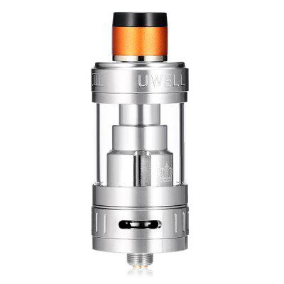 UWELL Crown 3 Sub Ohm Tank ClearomizerOther Atomizers<br>UWELL Crown 3 Sub Ohm Tank Clearomizer<br><br>Brand: Uwell<br>Material: Stainless Steel, Quartz Glass<br>Model: Crown 3<br>Package Contents: 1 x UWELL Crown 3 Sub Ohm Tank Atomizer ( Pre-installed 0.25 ohm ), 1 x 0.5 ohm Extra Coil, 1 x Extra Quartz Glass, 1 x Pack of Extra Rubber O-rings, 1 x Drip Tip Cover, 1 x English User Manual<br>Package size (L x W x H): 9.00 x 5.00 x 3.00 cm / 3.54 x 1.97 x 1.18 inches<br>Package weight: 0.2620 kg<br>Product size (L x W x H): 6.17 x 2.45 x 2.45 cm / 2.43 x 0.96 x 0.96 inches<br>Product weight: 0.0630 kg<br>Resistance: 0.25 ohm / 0.5 ohm<br>Tank Capacity: 5.0ml<br>Thread: 510<br>Type: Tank Atomizer, Clearomizer