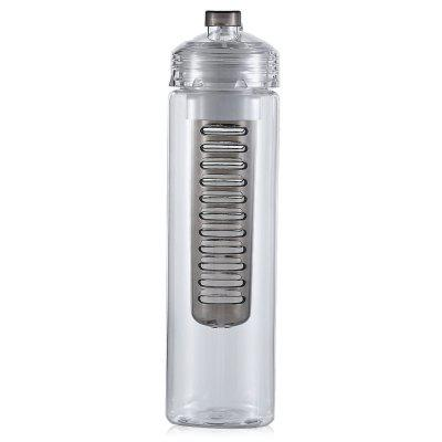 CTSmart Leakproof 800mL Water Bottle with Fruit FilterOther Camping Gadgets<br>CTSmart Leakproof 800mL Water Bottle with Fruit Filter<br><br>Brand: CTSmart<br>Capacity: 800mL<br>Package Contents: 1 x CTSmart Water Bottle<br>Package size (L x W x H): 28.00 x 8.50 x 8.50 cm / 11.02 x 3.35 x 3.35 inches<br>Package weight: 0.2230 kg<br>Product size (L x W x H): 25.80 x 7.00 x 7.00 cm / 10.16 x 2.76 x 2.76 inches<br>Product weight: 0.1410 kg