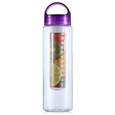 CTSmart Leakproof 700mL Water Bottle with Fruit Infuser