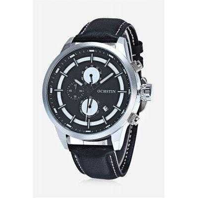 OCHSTIN 6049G Men Working Sub-dial Quartz Watch