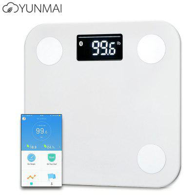 YUNMAI Mini 1501 Bluetooth 4.0 Smart Body Fat ScalesBody Scale<br>YUNMAI Mini 1501 Bluetooth 4.0 Smart Body Fat Scales<br><br>Model: 1501 Mini<br>Package Contents: 1 x Fat Scale, 1 x English User Manual<br>Package size (L x W x H): 30.80 x 29.00 x 4.80 cm / 12.13 x 11.42 x 1.89 inches<br>Package weight: 1.1840 kg<br>Product size (L x W x H): 26.00 x 26.00 x 1.90 cm / 10.24 x 10.24 x 0.75 inches<br>Product weight: 0.7180 kg