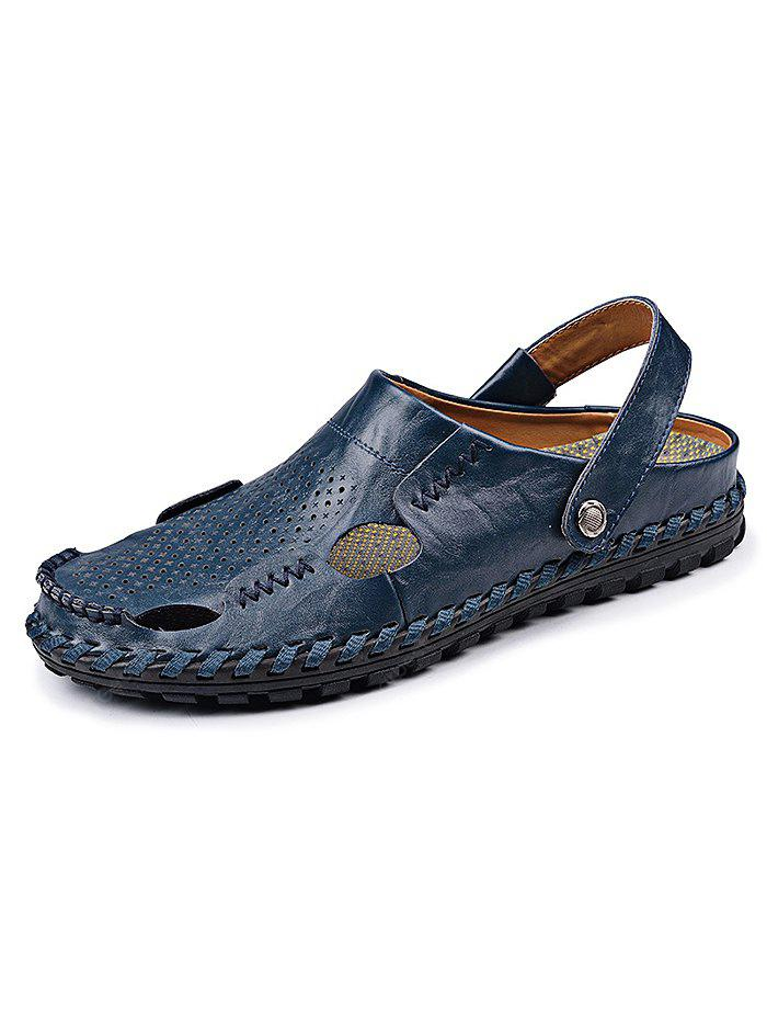 Fashion GenuineLeather Men Casual Slippers