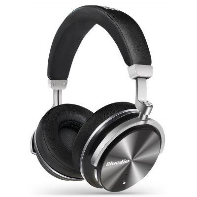 Bluedio T4 Portable Bluetooth Headphones - BLACK