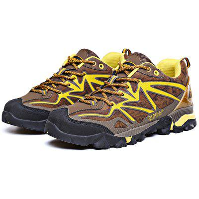 Buy BROWN 42 Men Climbing Explore Lace Up Hiking Shoes for $38.98 in GearBest store