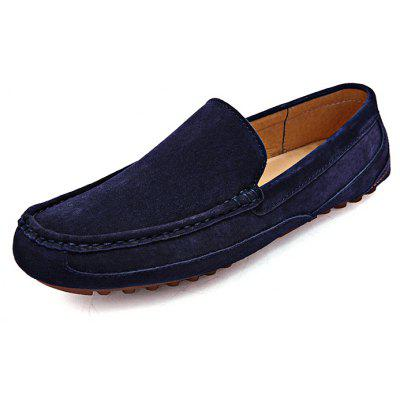 Retro Slip-on Leather Men Casual Shoes