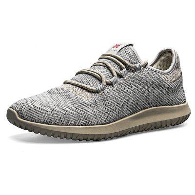 Summer Lightweight Mesh Lace-up Sports Shoes for Men